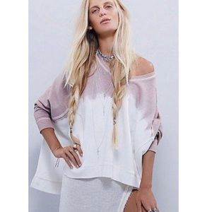 Free People Mystic Dip Dye Ombre Sweater